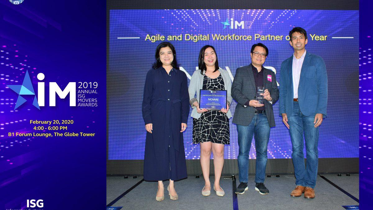 Novare wins Globe award